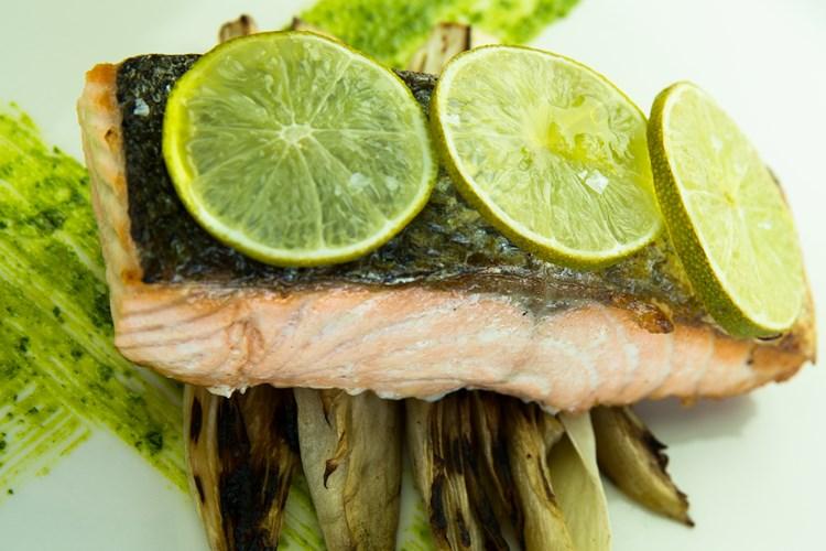 Salmone con Lime e Mezcal