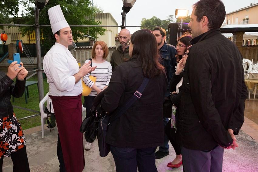 Fabrizio Bicchierai e i foodblogger