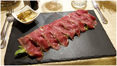 Carpaccio di Black Angus